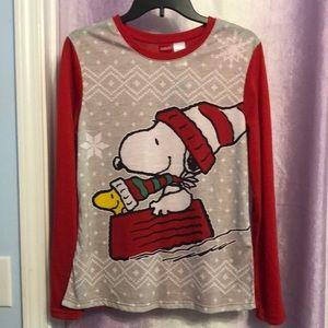 New Snoopy Top Pajamas